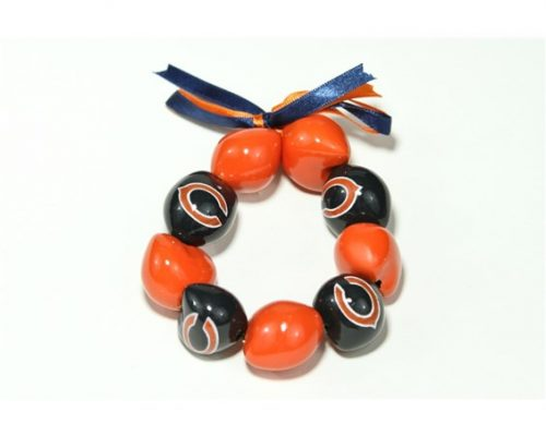 Chicago Bears Kukui Nut Bracelet