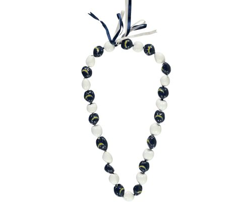 San Diego Chargers Kukui Nut Necklace