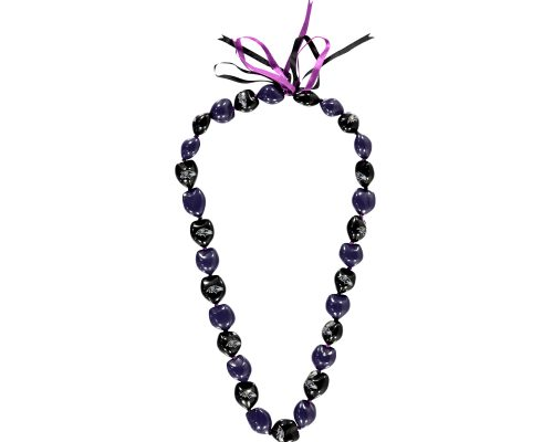 Baltimore Ravens Kukui Nut Necklace