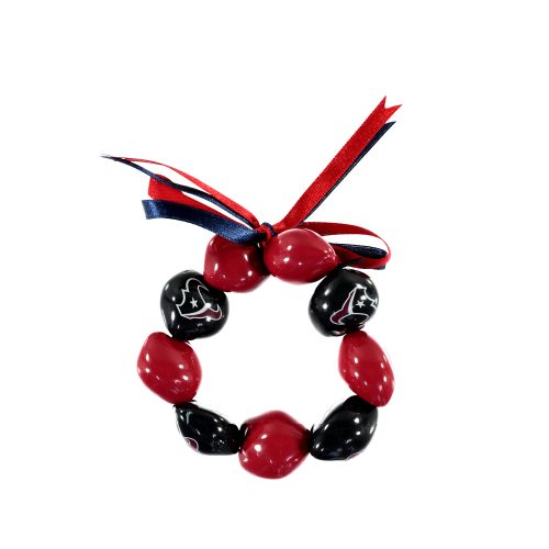 Houston Texans Kukui Nut Bracelet