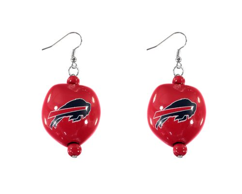 Buffalo Bills - Kukui Nut Earrings