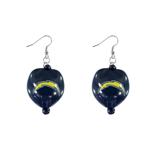 San Diego Chargers Kukui Nut Earrings