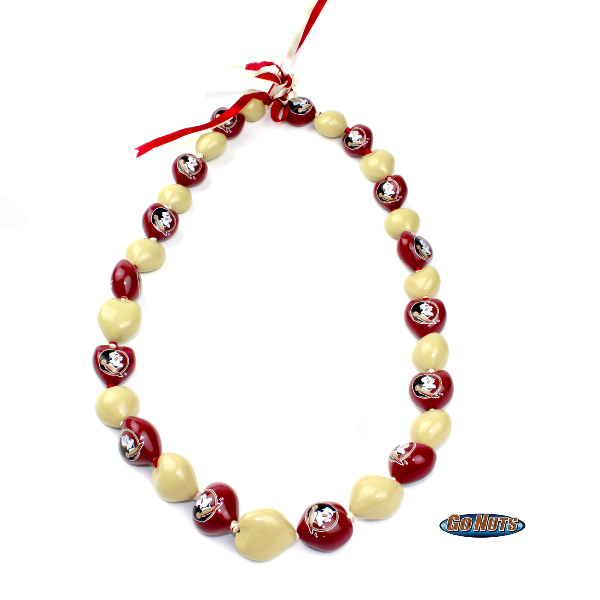 com amazon nut fan nuts lei necklace arizona outdoors ncaa dp sports necklaces go kukui wildcats