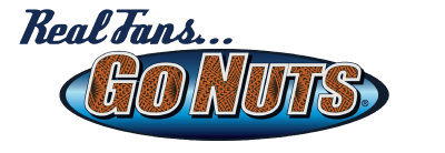 Real Fans Go Nuts Logo
